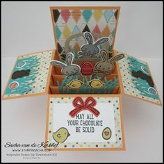 Stampin 'Up! Basket Bunch Pop-Up Box