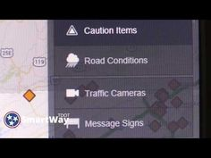New TDOT SmartWay offers live streaming video. Check out the updated web app! https://smartway.tn.gov/