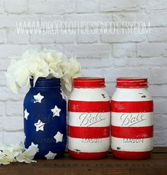 American Flag Mason