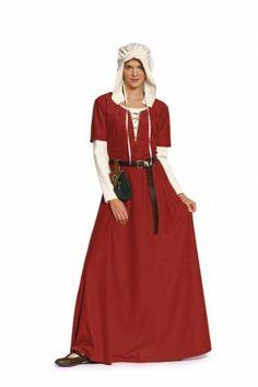 Burda 7468 middeleeuwse jurk en bonnet naaipatronen nl