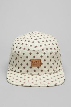 OBEY Stately 5-Panel Hat 5 Panel Hat 47b57ac5b732