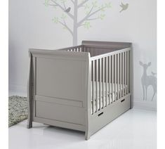 Buy Obaby Stamford Cot Bed - Taupe Grey at Argos.co.uk, visit Argos.co.uk to shop online for Cots, cribs and cot beds, Sleep, Baby and nursery