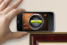 iHandy Level -- Hanging a photo? Putting up a shelf? Make sure your angles are straight with this nifty (and free) digital level. Available for iPhone/iPad/iPod Touch (Free) and Android (Free).