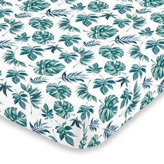 Leopards and Tropical Leaves Baby Reusable Changing Pad Cover Portable Travel Changing Mat