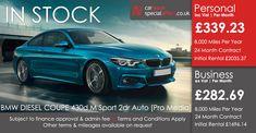 BMW 4 SERIES DIESEL COUPE  430d M Sport 2dr Auto [Professional Media]