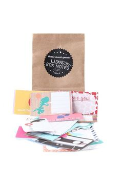 lunch box notes CRAFT