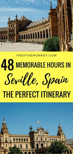 Read this Seville attractions guide to plan your two day trip to Spain's darling. Spain Travel Guide, Europe Travel Tips, Travel Guides, Travel Destinations, Backpacking Europe, Spain And Portugal, Portugal Travel, European Destination, European Travel