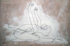 Wire craft - Wire Swan Dancer
