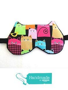 Cute Cat Sleep Masks, Travel Sleep Masks, Party Sleep Masks, Kitty Sleep Masks. from Shushbear https://www.amazon.com/dp/B01EVP3VQ4/ref=hnd_sw_r_pi_dp_QoCyxb73V3KZX #handmadeatamazon