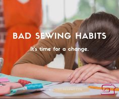 Bad Sewing Habits: It's Time For a Change http://so-sew-easy.com/bad-sewing-habits-time-change/?utm_campaign=coschedule&utm_source=pinterest&utm_medium=So%20Sew%20Easy&utm_content=Bad%20Sewing%20Habits%3A%20It%27s%20Time%20For%20a%20Change