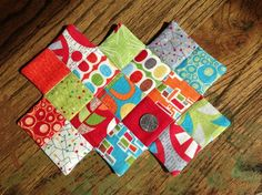 quilting project idea using mini charm pack