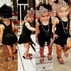 little girl fashion #kids fashion Kids fashion / swag / swagger / little fashionista / cute / love it!! Baby u got swag! Swagger