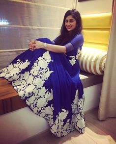 Wearing Ridhi Mehra New Fashion Saree, Bollywood Fashion, Bollywood Style, Indian Suits, Indian Wear, Glamorous Outfits, Indian Wedding Outfits, Frocks, Color Inspiration