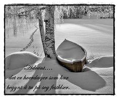 Poem in snow