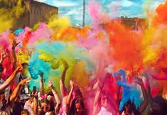 Holi-Style Dance Party for Two or Four at International Powder Fest Houston on August 20 (Up to Off) Holi Festival Of Colours, Holi Colors, India Colors, Editing Background, Picsart Background, Background Images, Photo Backgrounds, Colorful Backgrounds, Holi Powder