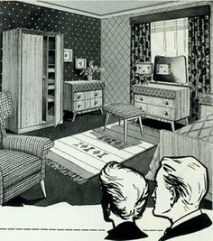 Affordable Contemporary furniture, 1954