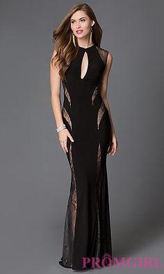 678b0b7530 Stunning Sleeveless Xtreme Prom Dress with Lace Cut Outs