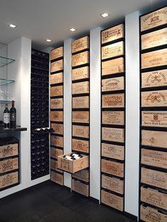 ARCave Wine Racks Image Gallery More- ARCave Weinregale Bildergalerie Mehr ARCave Wine Racks Picture Gallery More – - Crate Storage, Wine Storage, Storage Shelving, Storage Ideas, Crate Shelving, Storage Boxes, Cave A Vin Design, Bar Sala, Home Wine Cellars