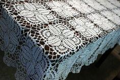 Thread Crochet Tablecloth