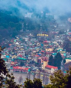 Mussoorie, North India, Incredible India, Seattle Skyline, Diaries, Exploring, Temple, Travelling