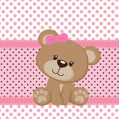 Olá!!! Para quem está decorando quartos ou fazendo alguma decoração de festinhas e chá de bebe, eu trouxe hoje duas lindas Tags de Ursi...