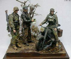 German SS troops