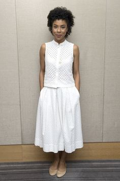 Sophie Okonedo Does Grown-Up Separates - Wednesday 23rd July