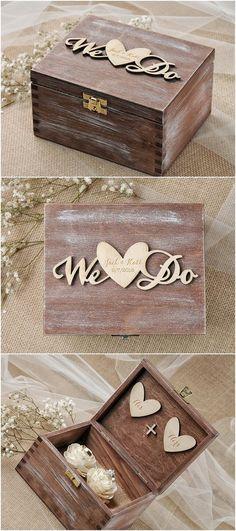172 Best Wedding Ring Box Images Wedding Boxes Wedding Ring Box