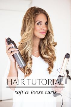 long hair tutorial for curls