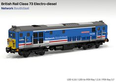 Lego BR Class 73 Network SouthEast | Flickr - Photo Sharing!