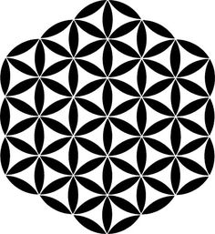 Flower of Life Stencil by SacredStructures on Etsy, $20.00