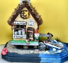 bait shop and pier