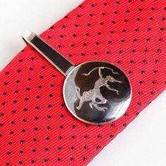 Sale - Vintage Sterling Silver Siam Black Niello Rama Tie Bar - Retro Men's Thai Ramakien Arrow Jewelry Motif Tie Clip Fashion Accessory by Maejean Vintage on Etsy