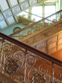 Staircase of the Auditorium Building, Chicago