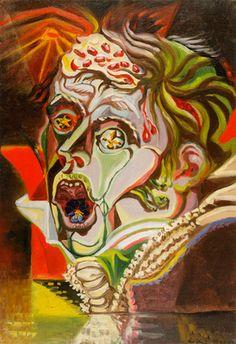 Andre Masson, Portrait do poete heinrich von kleist