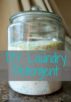 Laundry is an endless chore in any house. This method for DIY laundry detergent will change the way you do laundry. Click here for recipe! #LaundryDetergent #Homemade #Cleaning #Laundry #Housekeeping #HomeHacks