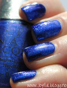 OPI, blue foil polish i don't like blue nail polish one but this is pretty!