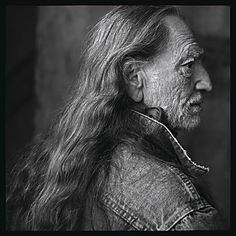 "Willie Nelson by Annie Leibowitz. ""We create our own unhappiness. The purpose of suffering is to help us understand we are the ones who cause it."""