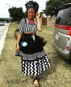 We have the latest modern Xhosa dresses online on Sunika. Discover Top Xhosa dresses designers in South Africa for your next outstanding Xhosa Wedding dress. Latest African Fashion Dresses, African Inspired Fashion, African Print Dresses, African Print Fashion, African Dress, African Clothes, South African Traditional Dresses, Traditional Dresses Designs, Traditional Outfits