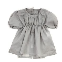 Makie Baby Blouse - Grey - Smallable found on Polyvore