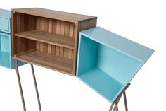 FuoriSalone 2015: Cabinets by Magenta   Basil Green Pencil