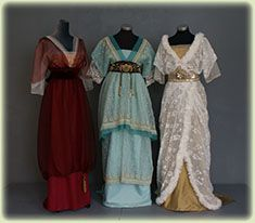 Victorian & Edwardian - Clothing Fashion Costumes made to measure - Atelier Gandiva Edwardian Gowns, Edwardian Clothing, Antique Clothing, Edwardian Fashion, Vintage Fashion, Vintage Outfits, Vintage Gowns, Retro Outfits, Belle Epoque