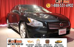 Pre-owned 2009 Nissan Maxima 3.5 SV CVT @ CarOne Kingston.      Unheard of used vehicle financing starting at 0.9% & oil changes for life on select models! Free CarProof reports on all vehicles along with our standard 100 point inspection & certified on site 155 point inspections.    This  2009 Nissan Maxima is waiting and ready to go. Check it out at 1010 Centennial Drive  Kingston, Ontario or http://www.car1.ca.    http://car1.ca/inventory/kingston-2009-nissan-maxima-3-5-sv-cvt-2/