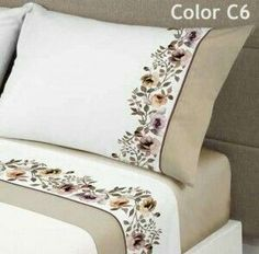 Fikriye Arıkan lady's daughter drink - Bedroom Bed, Linen Bedroom, Furniture Bedroom and Style Master Bedroom Hand Embroidery Designs, Embroidery Patterns, Draps Design, Sheet Curtains, Bed Cover Design, Designer Bed Sheets, Embroidered Bedding, Embroidered Flowers, Bed Sheet Sets