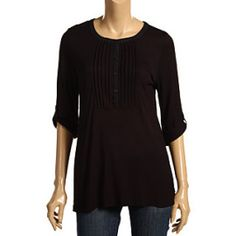 great silhouette and looks super-comfy. I love 3/4 sleeves.