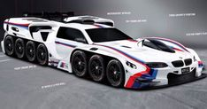 This Crazy 8000bhp BMW Concept Is The Coolest Thing You've Ever Seen