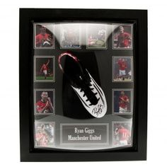 Manchester United F.C. Giggs Signed Boot (Framed)
