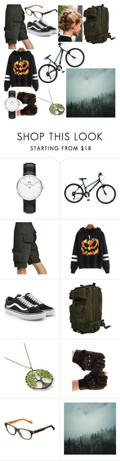 """""""into the woods"""" by sandyunicorn666 ❤ liked on Polyvore featuring Falcon Enamelware, WithChic, Vans and Julbo"""