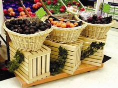 produce crates and dollies