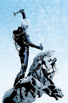 BATMAN ARKMr. HAM MISTER FREEZE TP Freeze estrellas en esta nueva colección que cuenta con algunas de sus escaramuzas más brutales con Batman! Recoge